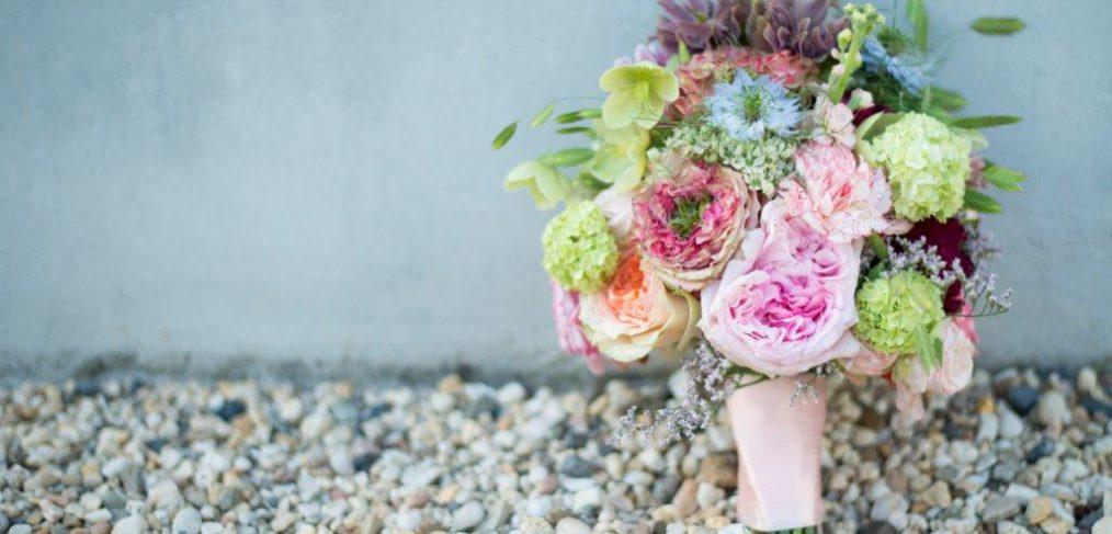 lenteboeket bruiloft springflowers weddingflowers